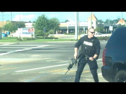 Eyewitness Captures Terrifying Video From Middle of Baton Rouge Police Ambush