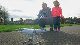 Best drone ever! dji phantom 4 first flight test & review