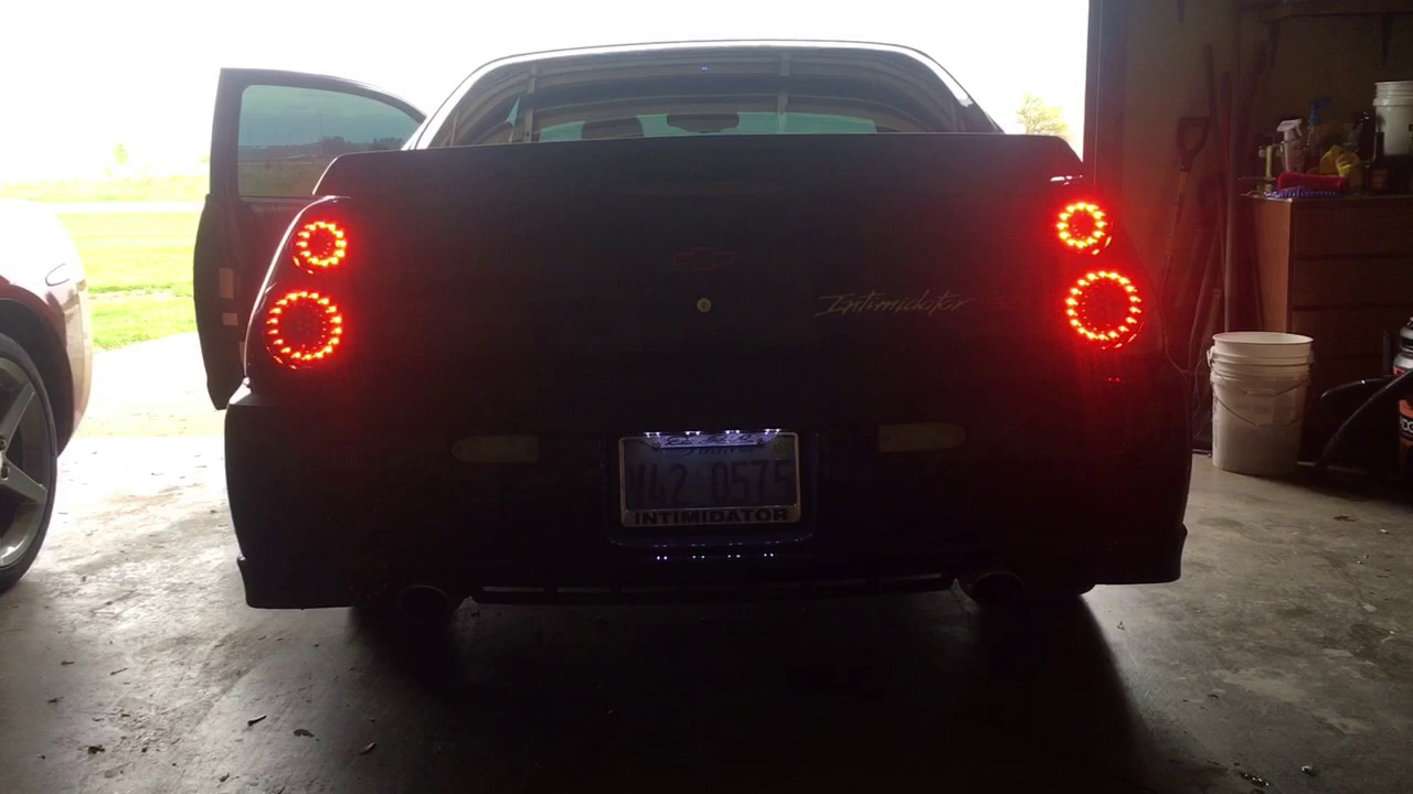 Ipcw Led Tail Lights 2000 2005 Monte Carlo