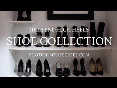 High End High Heels  SHOE COLLECTION  Alexander Wang, Louboutin, Saint Laurent.