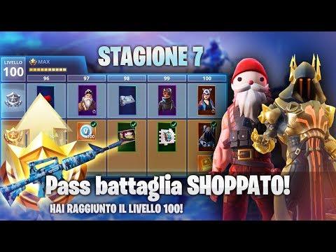 Shoppo TUTTO il Pass Battaglia 7! NUOVA STAGIONE Fortnite ITA!