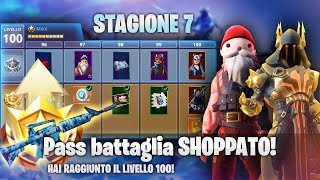 Shoppo ALL the Battle Pass 7! NEW FORtnite ITA SEASON!
