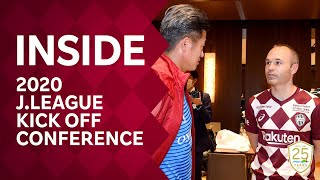 【INSIDE】2020 J.LEAGUE KICK OFF CONFERENCE|ANDRES INIESTA thumbnail