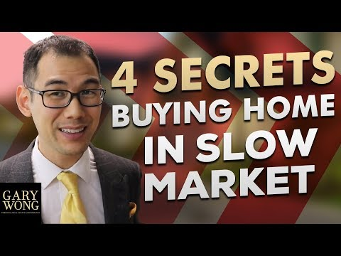 The Truth About Buying A Home In A Slow Market - 4 Secrets