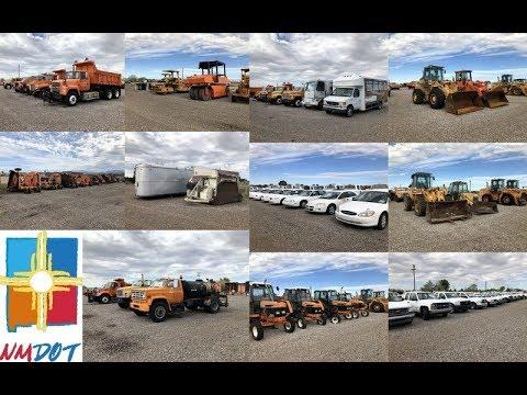 130d686e0a 733 New Mexico DOT Annual Public Surplus Auction - YouTube