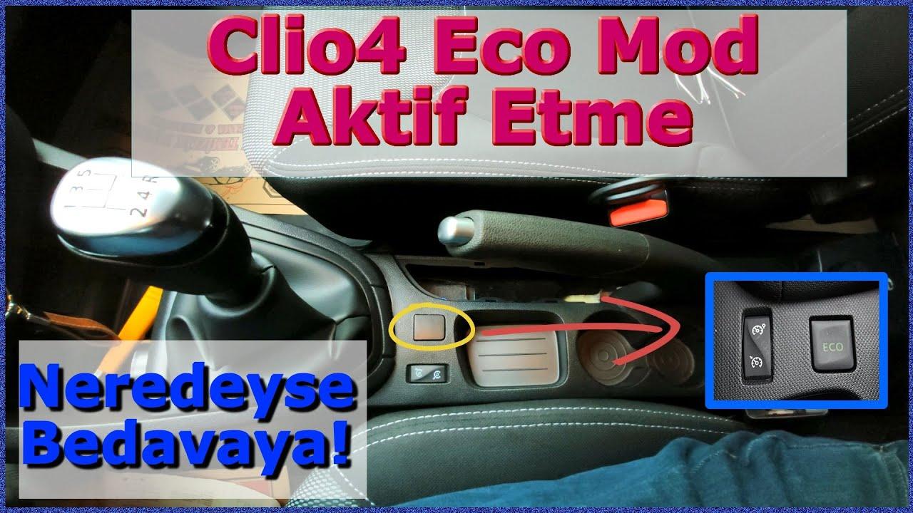 Clio4 Gizli özelliklerini açtım