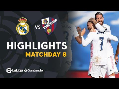 Highlights Real Madrid vs SD Huesca (4-1)