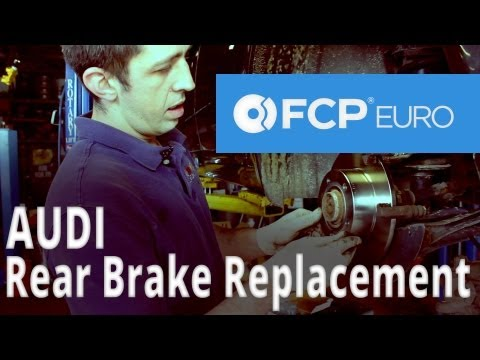 Audi Brake Replacement (A6 Rear Pads & Discs) FCP Euro