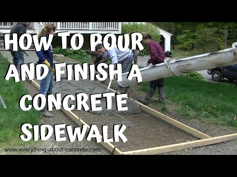 concrete-sidewalk-:-forming,-pouring-and-finishing