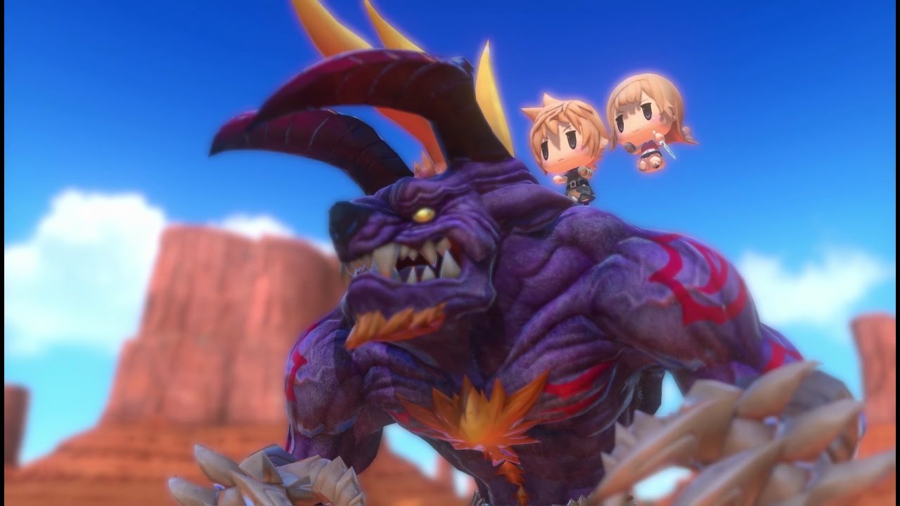 World Of Final Fantasy Stack
