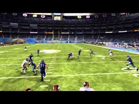 Botz 2K11:Broncos/Chargers-Tim Tebow throws INT to Quentin Jammer