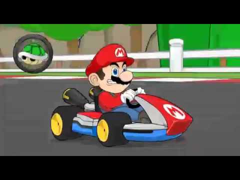 Mario, kratos, sonic,crash bandicoot