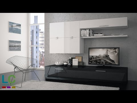 3ds Max Modeling Living Room + Vray + Photoshop