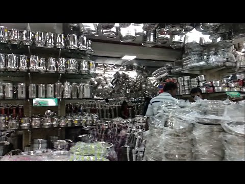 T.Nagar Saravana Store vessels collections | brass | copper | trending organizers#vijisamayal