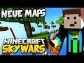 12 NEUE MAPS z.B. SKYBLOCK - Minecraft: SKYWARS #50
