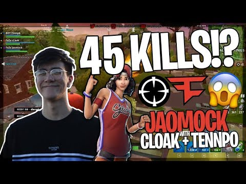 THEY GOT 45 KILLS WITH 3 PEOPLE?! - FaZe Fortnite