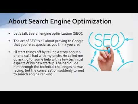 EP07 – About Search Engine Optimization – A Beginners Guide to SEO