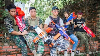 LTT Nerf War : Captain SEAL X Warriors Nerf Guns Fight Criminal Group Revenge