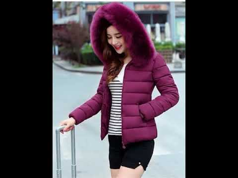 Áo khoác lông vũ sang trọng, ấm áp