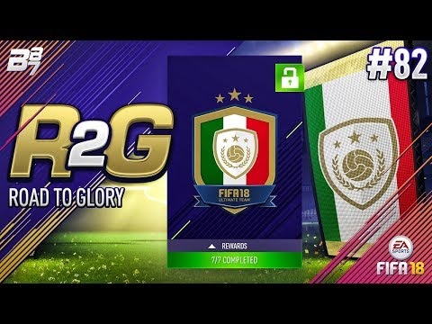 ROAD TO GLORY! 92 RATED ICON UNLOCKED!! #82 | FIFA 18 ULTIMATE TEAM