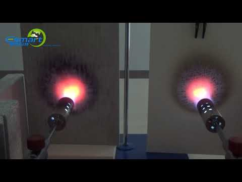 E Smart Magnesium Mineral Board Fire Resistant Performance Test Video