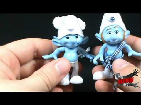 Toy Spot - Jakks Pacific Toys R Us Exclusive Smurfs Grab Ems 4 Pack Set 2