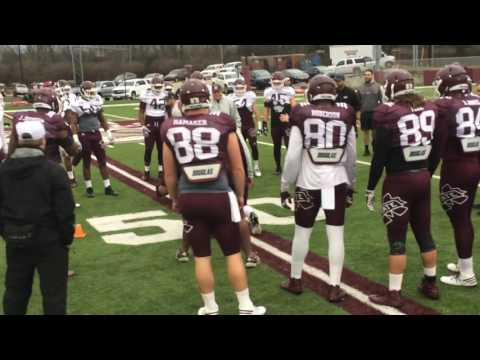 Mississippi State Football Practice: March 7, 2017