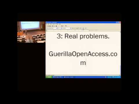r | p 2010: The Social Responsibility of Computer Science - Aaron Swartz