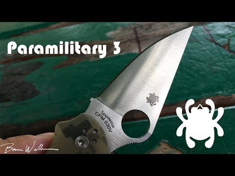 Spyderco Paramilitary 3 Review – A Good EDC
