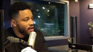 Ryan Coogler of Black Panther on The Mike Muse Show for SiriusXM  with Aren Leekong