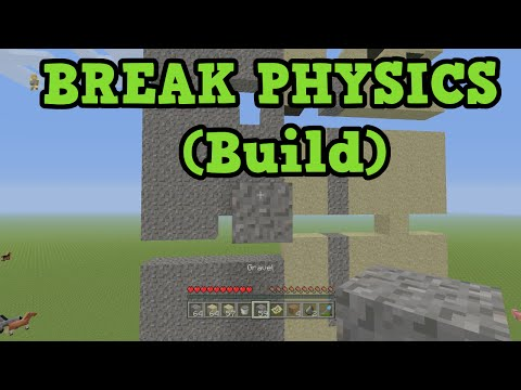 Minecraft - Physics Breaking Build