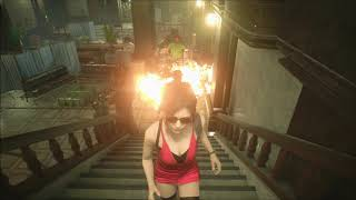 Sexy Stockings Original Red Dress Ada For Resident Evil 2 Remake