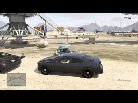 GTA 5 HOW TO GET AN FBI CAR WITH LOCATION (GAMEPLAY)