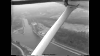 Flying Over & Around Niagara Falls - 1973