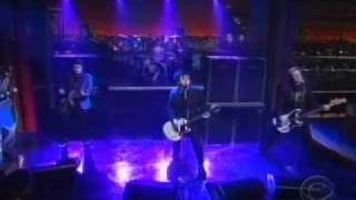 Green Day Boulevard of Broken Dreams live Letterman