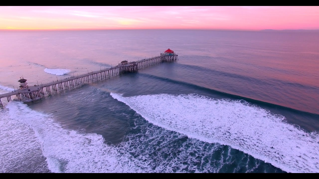 Sunrise Surf Session Huntington Beach