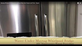 Whirlpool Maytag Refrigerator Ice On Bottom Of Freezer Floor