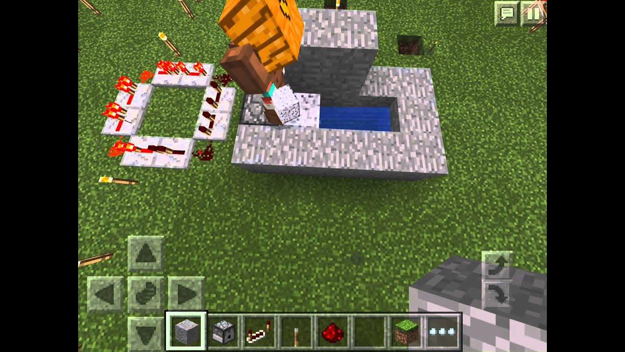 水の出し入れ装置(クロック回路とレバー),Minecraft PE,【マインクラフト】【スマイルリンク】,SmileLink, , YouTube