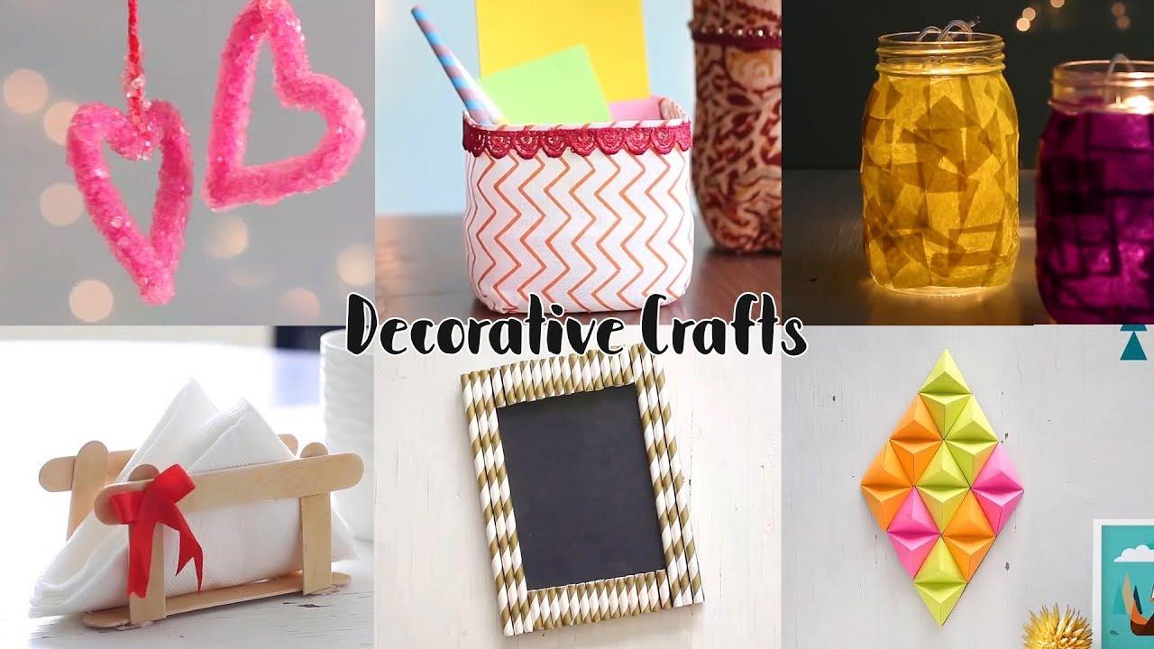 Home Decorative Craft Ideas Unbelievably Helpful Diy Youtube