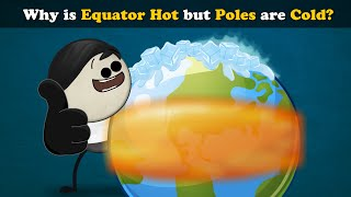 Why is Equator Hot but Poles are Cold? | #aumsum
