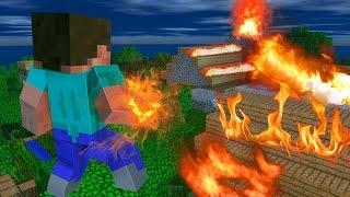 vuclip Minecraft - PARAÍSO - #48 O ATAQUE DO HEROBRINE!