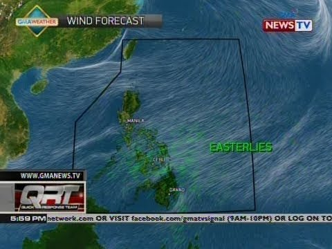 QRT: Weather update as of 5:59 p.m. (March 26, 2019)