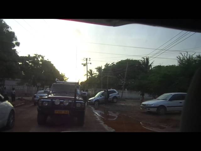 Toyota Rav4 Stuck in mud Tanzania Dar-Es-Salaam Fall Travel Video