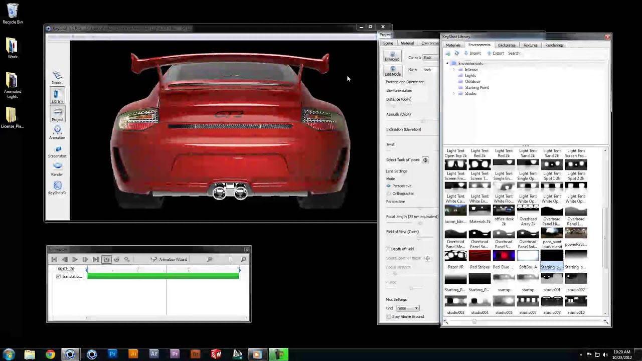 KeyShot Quicktip: Animated Lighting in KeyShot - YouTube
