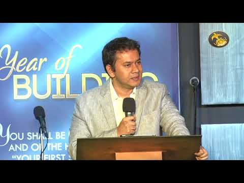 Year Of Building 2018 | Pr.Terry Prakasam