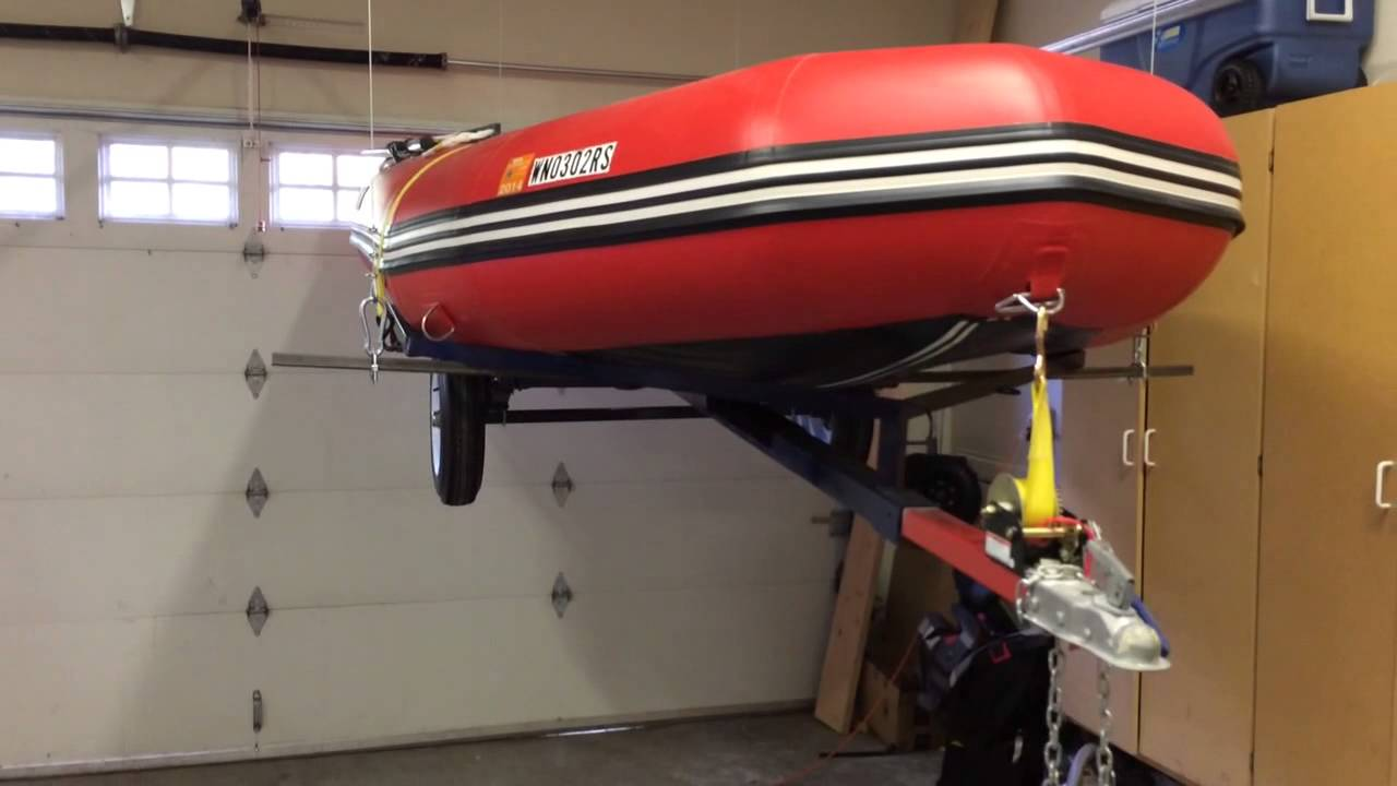 Trailer garage storage best storage design 2017 for Garage boat storage