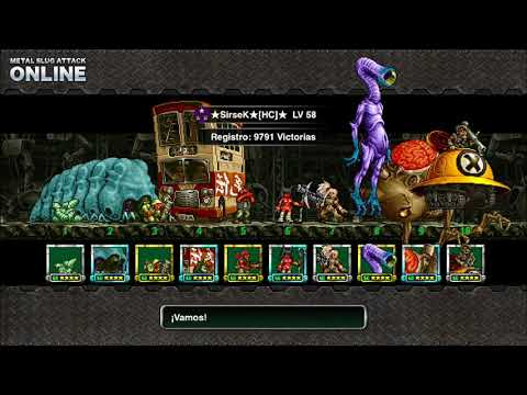 Metal Slug Attack - Deck New Pilots - Batallas Online