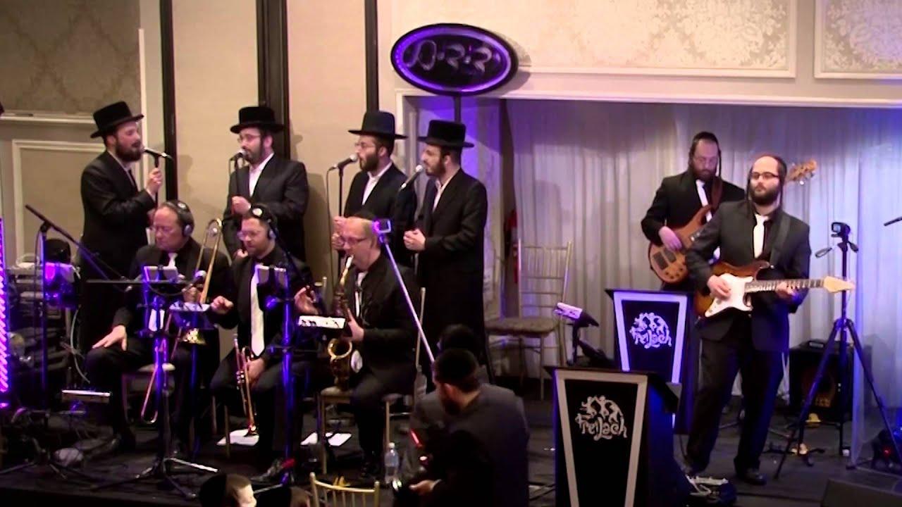 """Freilach Menachem Moskowitz & Yedidim Choir """"Shtar"""