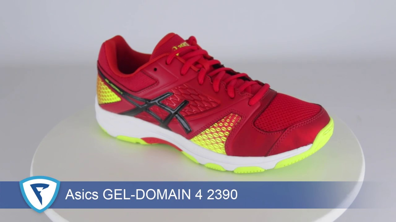 Asics GEL DOMAIN 4 2390 - YouTube c5ca971ac9