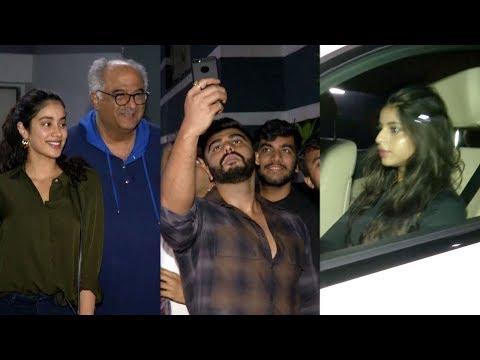SRK's Daughter Suhana Khan, Janhvi Kapoor, Arjun Kapoor At Shanaya Kapoor's Birthday Party